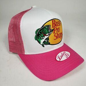 Bass Pro Shops Hat Embroidered Fishing Baseball Trucker Mesh Cap Snapback Hunt