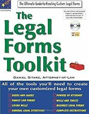 Legal Forms Toolkit : All the Tools You'll Need to Create Your Own Customized Le