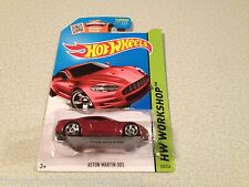 Hot Wheels Workshop Aston Martin DBS Coupe Red Diecast Model Car 1:64 Scale