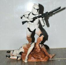 Hasbro Star Wars Unleashed CLONE TROOPER figure White Variant