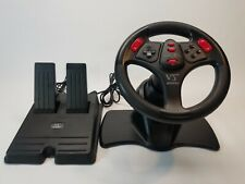 InterAct V3 FX Ps1 Ps2 Playstation Racing Wheel Pedals Sv-1118a