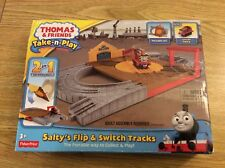 Thomas & Friends Train Track Take-n-Play Salty's Flip Fisher-Price Toy