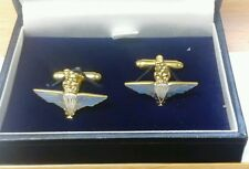 CUFF LINKS - BRITISH ARMY - PARACHUTE REGIMENT