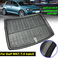 Boot Cargo Liner Trunk Mat Tray For VW Golf 7 / GTI R MK7 Hatch Hatchback 13-18