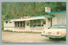 Bonnie & Clyde Drive In Restaurant LOAFERS GLORY North Carolina BAKERSVILLE Coke