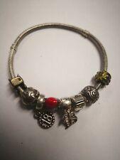 Pandora Charm Bracelet With 7 Charms