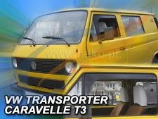 VW CARAVELLE TRANSPORTER t4 2-porte Van 90-03 2-tlg Déflecteurs saute vent