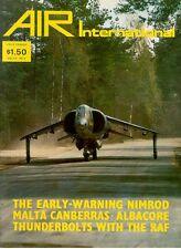 AIR INTERNATIONAL V14 N3 F-84F / NIMROD AEW / ALBACORE / RAF No.13 SQN CANBERRA