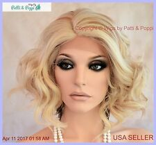 Curly Lace Front Deep Lace Part Heat Safe Wig  Stunning  FS613/27 US SELL