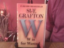 W is for Wasted-Sue Grafton Paperback English Genre Fiction Berkley Books 2013