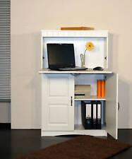 Landhaus 4132-1 Sekretär PC-Schrank Computermöbel Schrank im Landhausstil Weiß