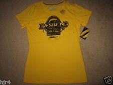 Livestrong Nike Yellow Kona Training Running Shirt Womens L Large NWT