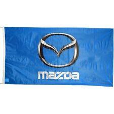 Large Mazda flag (blue) 1500mm x 900mm (of)