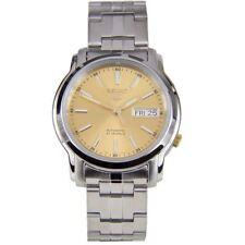 SNKL81K1 SNKL81 Seiko 5 Automatic Analog Gold Dial 21 Jewels Mens Dress Watch