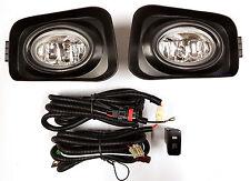 *New* Driving Fog Light Kit Spot Lamp Set for Honda Accord Euro Cl 2003 -12/2005