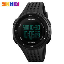 Sport Men Woman Sport 50M Waterproof Led Digital Watch Military Army Wristwatch