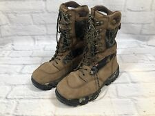 Itasca Womens Size 9 Camo Thinsulate Aqua Plus Hunting Lace Up Boots w2b