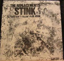 """The Replacements – Stink (""""Kids Don't Follow"""" Plus Seven)  12"""" Mini-Album 1988"""