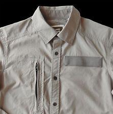 Men's G-STAR RAW / G RAW Grey Gray Cotton + POWEL 3D Shirt X-Large XL NWT NEW