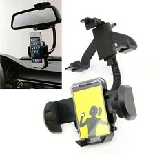 Car Rearview Mirror Mount Holder For Cell Phone iPhone 5 5C 5S Samsung S3 S4 GPS