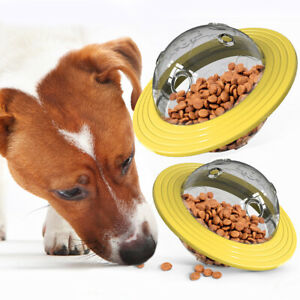 Funny Treat Ball Interactive Food Dispensing Toy Pet Dog Puppy Playing Chewing
