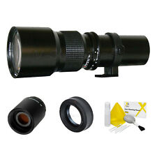 500mm/1000mm Telephoto Lens Olympus 4/3 E-420,E-520,E-30, E-620,E-450,E-600,E-5