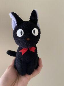 "Kiki's Delivery Service Jiji Plush  Cat Doll Animal Toy 6"""