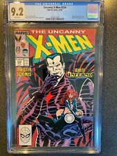 Uncanny X-Men No.239 CGC 9.2 2nd Appearance of Mr Sinister 1st Appearance Goblin