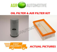 PETROL SERVICE KIT OIL AIR FILTER FOR FORD FOCUS 1.6 101 BHP 1998-05