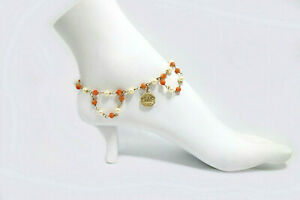 Versatile Jewelry Worn as Plus Size Anklet - Choker Chain  or - Boot Bracelet