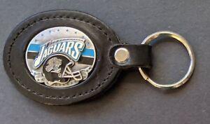 "JACKSONVILLE JAGUARS Siskyou 4""Leather Key Ring NFL Licensed Merchandise *New*"