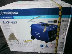 Westinghouse iGen4500 Super Quiet Inverter Generator Electric Start RV Ready New