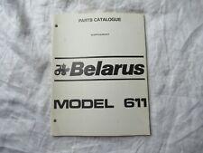 Belarus D144 Engine Parts Catalog Manual Book