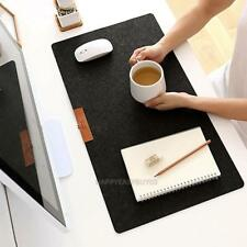 Ultrathin Anti-Slip Office Table Computer Mouse Pad Desk Keyboard Game Mouse Mat