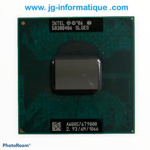 T9800 Intel Core 2 Duo 2,93 GHz Processeur PGA478 BGA479 - JG-informatique. com