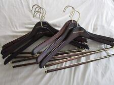 """RALPH LAUREN Stained Wood Standard Hanger 17"""""""