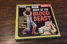 NIGHT OF THE BLOOD BEAST SUPER 8 CINEMA FILM SOUND for projector cult vintage