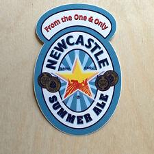 New Castle Summer Ale beer vinyl sticker liquor alcohol PBR decal bumper laptop