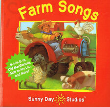 FARM SONGS • 20 Children's Songs on CD by SUNNY DAY STUDIOS • New & Sealed