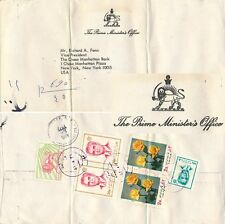 PERSIA 1972, PRIME MINISTER's OFFICE REGISTERED OFFICIAL COVER TO USA. #E836