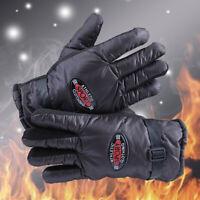 Men Women Winter Warm Ski Fleece Lined Gloves Waterproof Outdoor Driving Mittens
