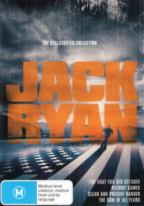 Jack Ryan -The Declassified Collection DVD R4 PAL NEW AND SEALED FREE POST