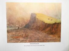 Golf Course Print SHERINGHAM NORFOLK Facsimile Of Original Painting 1910