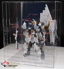 Gundam transparent display stand for Nu RG 1/144 3D Disintegration Display Box