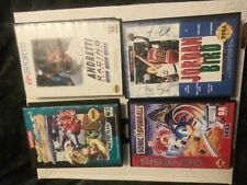 Saga genisis games lot of four street fighter Sonic spinball