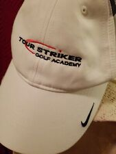 Nike Golf Cap/Hat Adult Unisex White Adj Dri-Fit. Nwt.