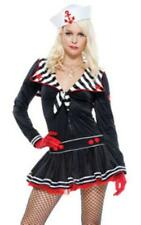 Deckhand Darling Sexy Sailor Costume Dress Hat Gloves ML Forplay 558522