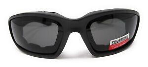 Vortex Motorcycle Sunglasses EVA Lined Wraparound Biker Glasses+Pouch & Postage