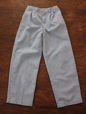 Kellys Kids Boys Girls Pants Blue White Striped Lightweight Belt Loops Size 7