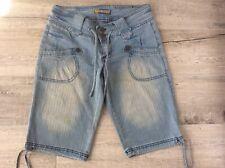 Jou Jou Denim Jeans Bermuda Gr.5/6 ( S/36) w.Neu Stretch